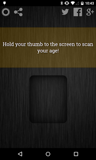 年龄扫描仪