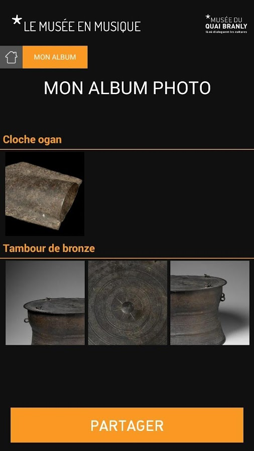 le musée en musique - screenshot