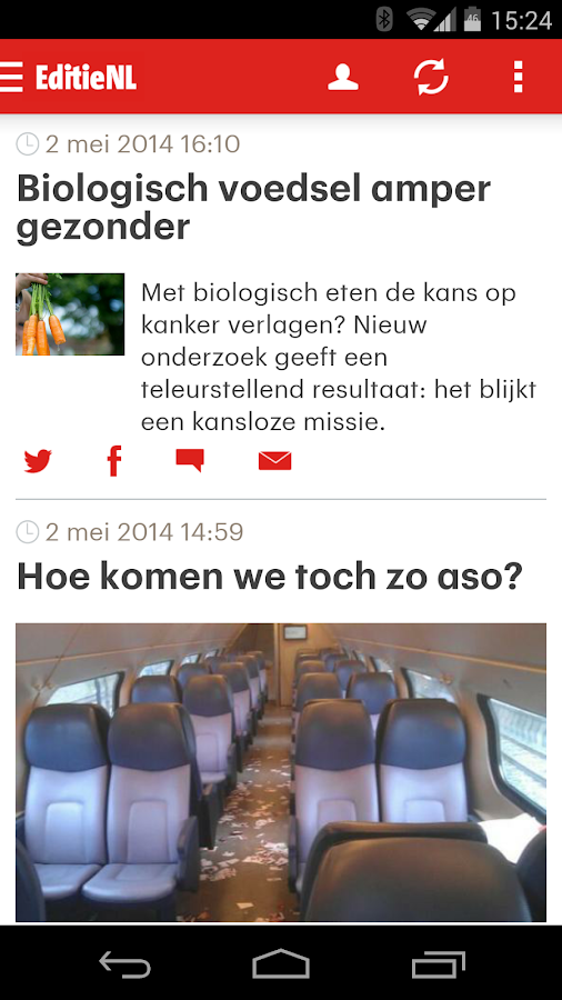 RTL Nieuws mobile- screenshot
