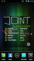 Screenshot of Cannabis Joint Battery Widget