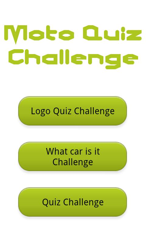 Logo Moto Quiz Challenge Cars - screenshot