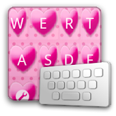 HeartPink keyboard skin