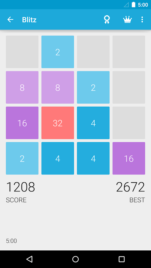 2048++- screenshot