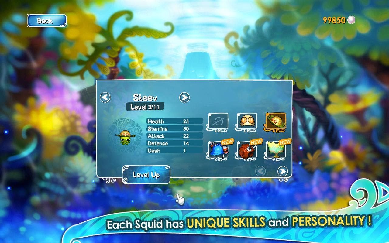 SQUIDS HD - screenshot