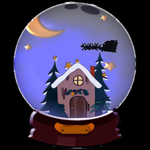 Christmas Snow Globe Countdown