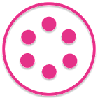 Stamped Pink SL Theme icon