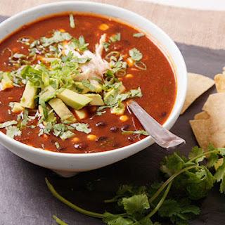 Real-Deal Tortilla Soup