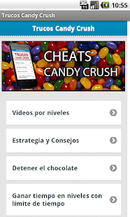 Candy Crush cheats and guide. - screenshot thumbnail
