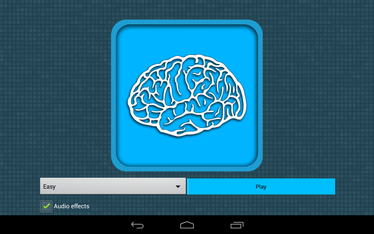 MemBrain - Memory Game- screenshot