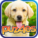 Free Dog Puzzles - Fun Game icon