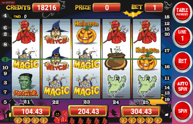 slot machine gratis halloween