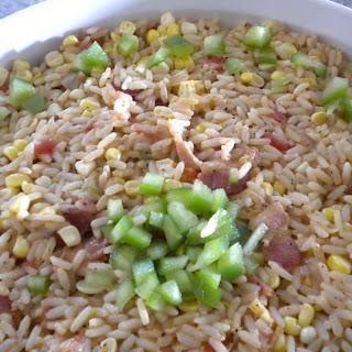 Cajun Corn and Rice.