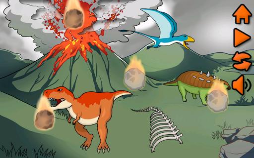 幼児のための恐竜パズル