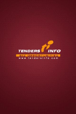 Tendersinfo - screenshot