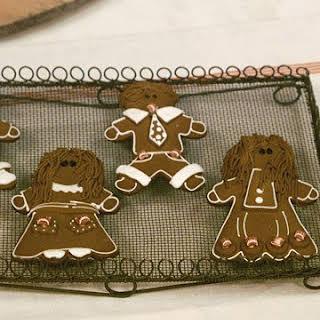 Basic Gingerbread Cookies.
