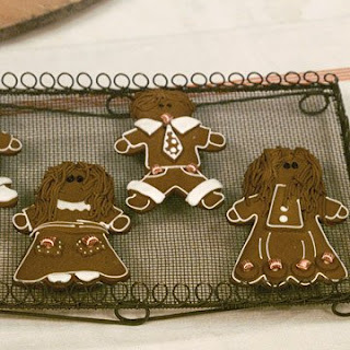Basic Gingerbread Cookies.