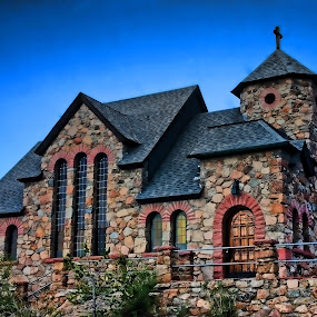 by Todd Yoder - Buildings & Architecture Places of Worship ( building, sky, church, windows, architecture )