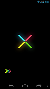 Minimal X Go Launcher Locker- screenshot thumbnail