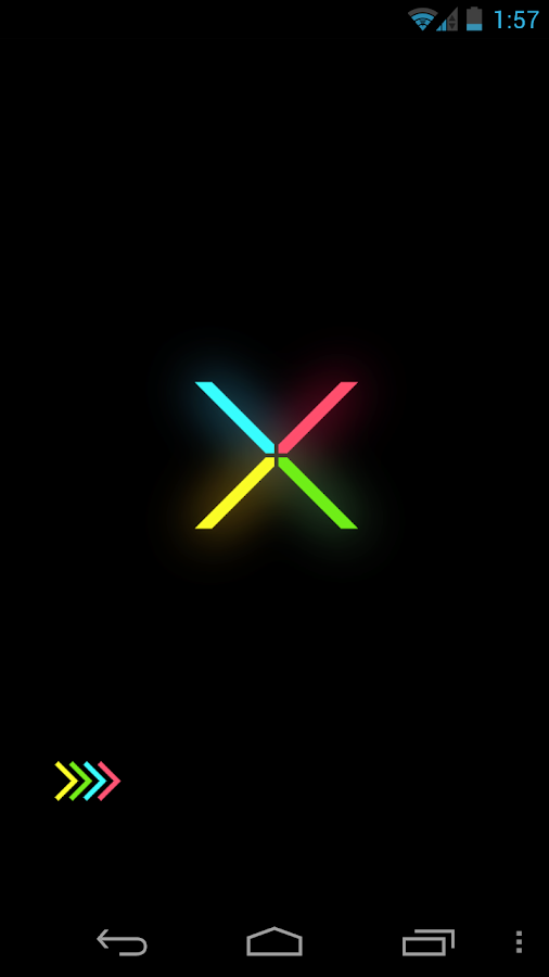 Minimal X Go Launcher Locker- screenshot