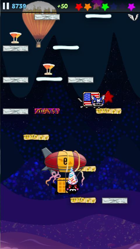 Nyan Cat: Jump! - screenshot