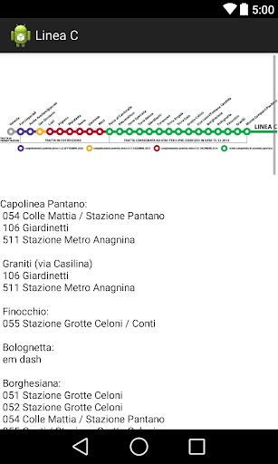 Metro - Linea C