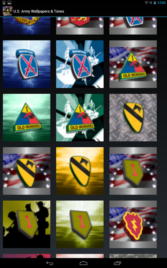 U.S. Army Wallpaper & Cadences- screenshot