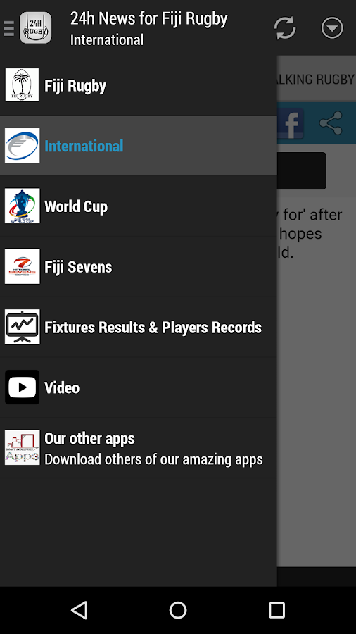 Fiji Rugby 24h- screenshot