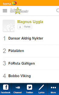 Magnus Uggla Blue Fan - screenshot thumbnail