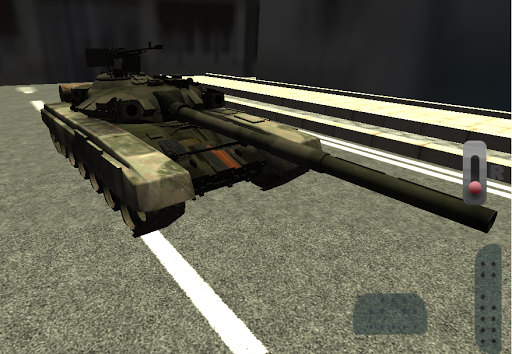 Tank Driver Simulator 3D
