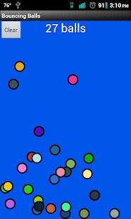 Bouncing Balls- screenshot thumbnail