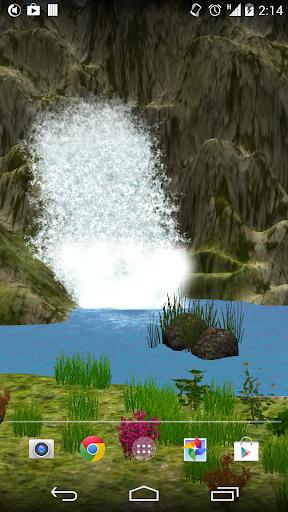 3D Waterfall HD Pro