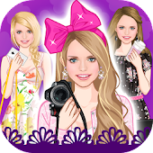 Floral Summer dress up game