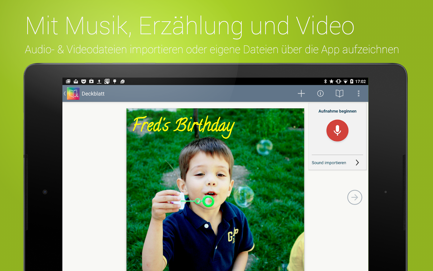 Book Creator – Buchgenerator – Screenshot