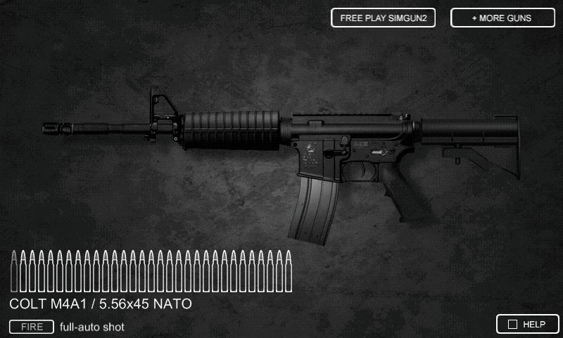 Sim Gun M4A1 - screenshot
