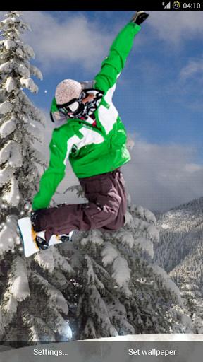Snowboarder PRO Live Wallpaper