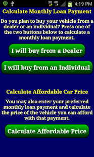 Car Loan Payment Calc Pro - screenshot thumbnail