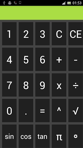 Personal Calculator