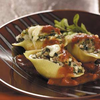 Makeover Cheese-Stuffed Shells.