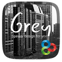 (FREE) Grey GO Launcher Theme icon