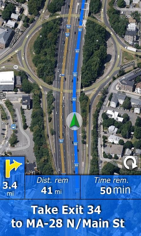 RV Route & GPS Navigation - screenshot