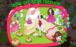 Screenshot of Design Wedding Party