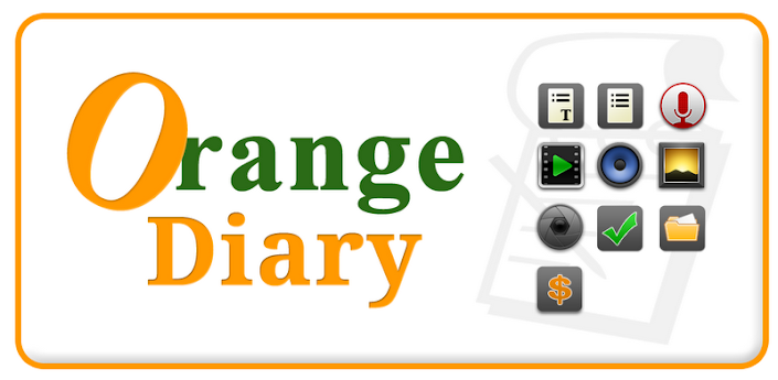 Journal Orange Diary Pro apk