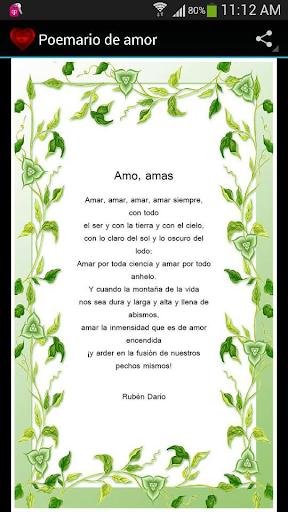 Poemario de Amor I