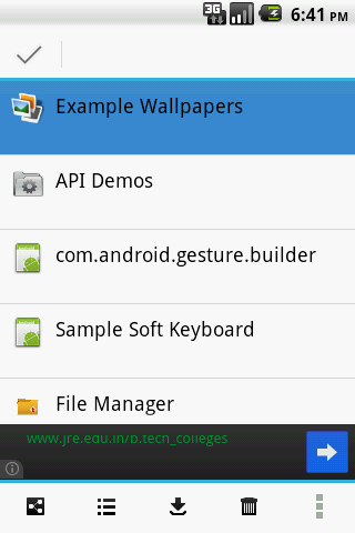 B - File Manager - screenshot