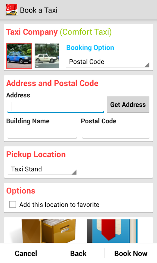 SG Cab Pro (Taxi Booking)- screenshot