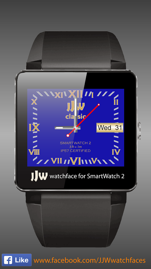 JJW Classic Watchface 8 SW2- screenshot