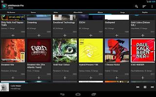 Screenshot of aWARemote for Winamp®