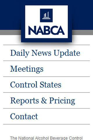 NABCA- screenshot