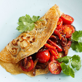 Spiced Vegetable Omelettes