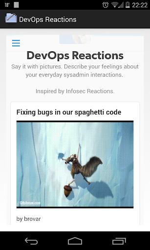 DevOps Reactions